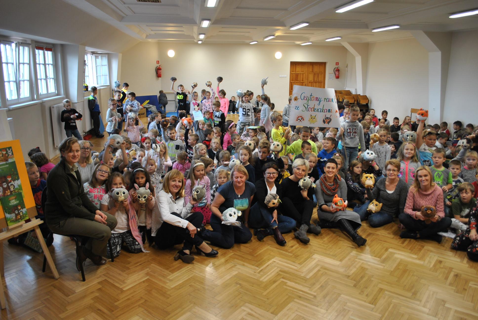 Czytamy Razem Ze Słodziakami Szkoła Podstawowa Nr 1 W Kętrzynie