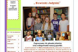 Nowinki Jedynki 1(2019-2020)strona
